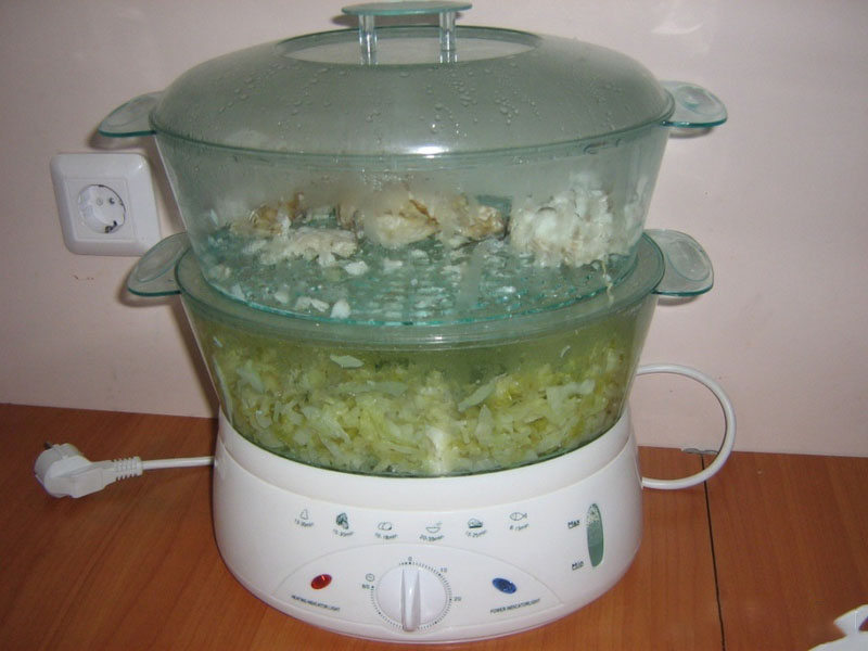 Рецепты блюд для пароварки с фото